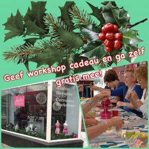Kerst actie bij kralenwinkel Limited Edition in Den Haag
