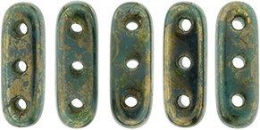 De CzechMates Beam glaskraal word veel gebruikt in sieraad patronen en is te koop bij kralenwinkel Limited Edition in Den Haag in de kleur LG63150.
