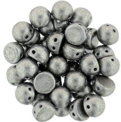 De CzechMates Cabochon 7mm glaskraal word veel gebruikt in sieraad patronen en is te koop bij kralenwinkel Limited Edition in Den Haag in de kleur 77053CR.