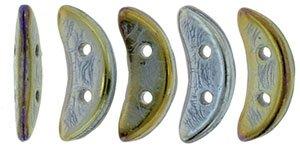 De CzechMates Crescent glaskraal word veel gebruikt in sieraad patronen en is te koop bij kralenwinkel Limited Edition in Den Haag in de kleur 21415JT.