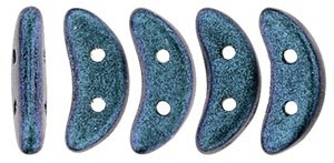 De CzechMates Crescent glaskraal word veel gebruikt in sieraad patronen en is te koop bij kralenwinkel Limited Edition in Den Haag in de kleur 94105JT.