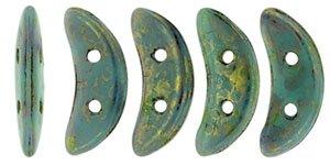 De CzechMates Crescent glaskraal word veel gebruikt in sieraad patronen en is te koop bij kralenwinkel Limited Edition in Den Haag in de kleur LG63130.