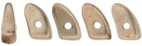 De CzechMates Prong glaskraal word veel gebruikt in sieraad patronen en is te koop bij kralenwinkel Limited Edition in Den Haag in de kleur 77057CR.