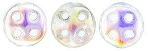 De CzechMates QuadraLentil glaskraal word veel gebruikt in sieraad patronen en is te koop bij kralenwinkel Limited Edition in Den Haag in de kleur X00030.