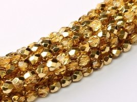 De glazen Fire Polished 3mm beads worden veel gebruikt in sieraden patronen en zijn te koop bij kralenwinkel Limited Edition in Den Haag in de kleur 00030/67861.