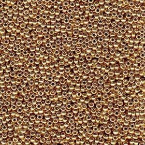 De rocaille seed bead van het Japanse merk Miyuki is te koop bij kralenwinkel Limited Edition in Den Haag in de maat 15-4204.