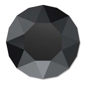 Swarovski kristal is te koop bij kralenwinkel Limited Edition in de kleur Jet