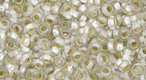 De demi round in de maat 8/0 van het Japanse glasmerk TOHO is te koop bij kralenwinkel Limited Edition in Den Haag in de kleur TN-08-PF21F