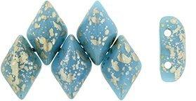 De Gemduo kraal van Matubo is erg leuk om te gebruiken in patroontjes en is te koop bij kralenwinkel Limited Edition in Den Haag in de kleur S23C63030.