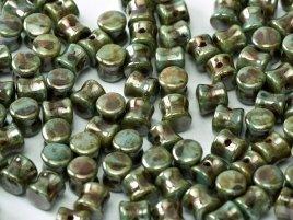 De Diabolo is zoals de naam al zegt gevormd als een kleine diabolo en is te koop bij kralenwinkel Limited Edition in Den Haag in de kleur 03000-65431.