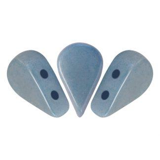 De Amos® par Puca® van het merk les Perles par Puca® is te koop bij kralenwinkel Limited Edition in Den Haag in de kleur Opaque Blue Ceramic Look.