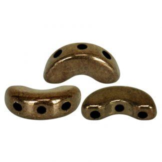 De Arcos® par Puca® van het merk les Perles par Puca® is te koop bij kralenwinkel Limited Edition in Den Haag in de kleur Dark Gold Bronze.