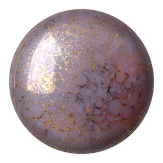 De Cabochons par Puca® van het merk les Perles par Puca® is te koop bij kralenwinkel Limited Edition in Den Haag in de kleur Opaque Amethyst Bronze.