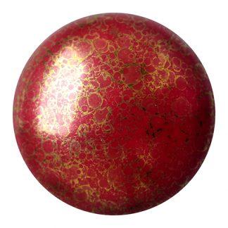 De Cabochons par Puca® van het merk les Perles par Puca® is te koop bij kralenwinkel Limited Edition in Den Haag in de kleur Opaque Coral Red Bronze.