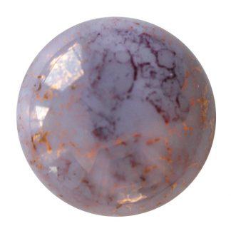 De Cabochons par Puca® van het merk les Perles par Puca® is te koop bij kralenwinkel Limited Edition in Den Haag in de kleur Opaque Light Amethyst Bronze.