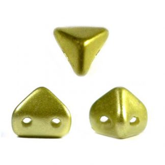 De Super-Khéops® par Puca® van het merk les Perles par Puca® is te koop bij kralenwinkel Limited Edition in Den Haag in de kleur Pastel Lime.