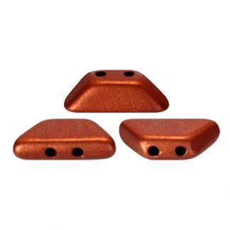 De Tinos® par Puca® van het merk les Perles par Puca® is te koop bij kralenwinkel Limited Edition in Den Haag in de kleur Bronze Red Mat.