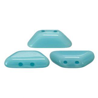 De Tinos® par Puca® van het merk les Perles par Puca® is te koop bij kralenwinkel Limited Edition in Den Haag in de kleur Opaque Blue Turquoise.