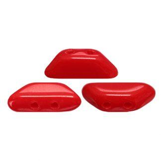 De Tinos® par Puca® van het merk les Perles par Puca® is te koop bij kralenwinkel Limited Edition in Den Haag in de kleur Opaque Coral Red.
