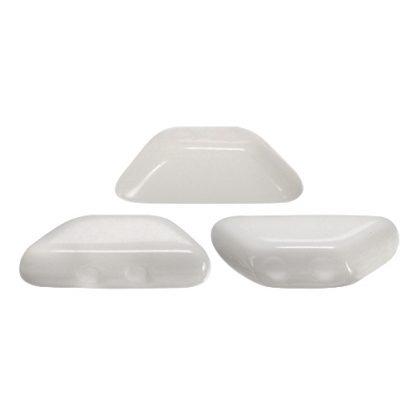 De Tinos® par Puca® van het merk les Perles par Puca® is te koop bij kralenwinkel Limited Edition in Den Haag in de kleur Opaque White.