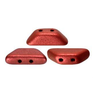 De Tinos® par Puca® van het merk les Perles par Puca® is te koop bij kralenwinkel Limited Edition in Den Haag in de kleur Red Metallic Mat.