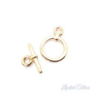 Dit kapittelslot van designer quality is te koop bij kralenwinkel Limited Edition in de kleur rose goud.