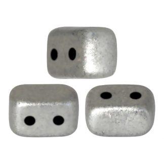 De Ios® par Puca® van het merk les Perles par Puca® is te koop bij kralenwinkel Limited Edition in Den Haag in de kleur Silver Alluminium Mat.