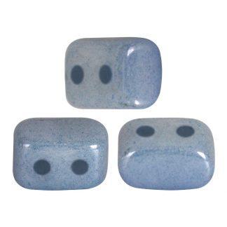 De Ios® par Puca® van het merk les Perles par Puca® is te koop bij kralenwinkel Limited Edition in Den Haag in de kleur Opaque Blue Ceramic Look.