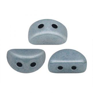 De Kos® par Puca® van het merk les Perles par Puca® is te koop bij kralenwinkel Limited Edition in Den Haag in de kleur Opaque Blue Ceramic Look.