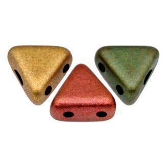 De Khéops® par Puca® van het merk les Perles par Puca® is te koop bij kralenwinkel Limited Edition in Den Haag in de kleur Yellow Gold Metallic Iris.