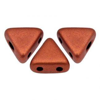 De Khéops® par Puca® van het merk les Perles par Puca® is te koop bij kralenwinkel Limited Edition in Den Haag in de kleur Bronze Red Mat.