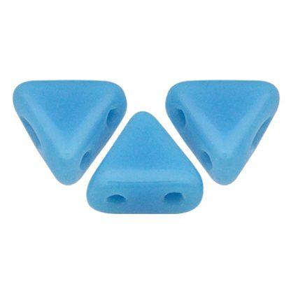 De Khéops® par Puca® van het merk les Perles par Puca® is te koop bij kralenwinkel Limited Edition in Den Haag in de kleur Opaque Blue Turquoise.