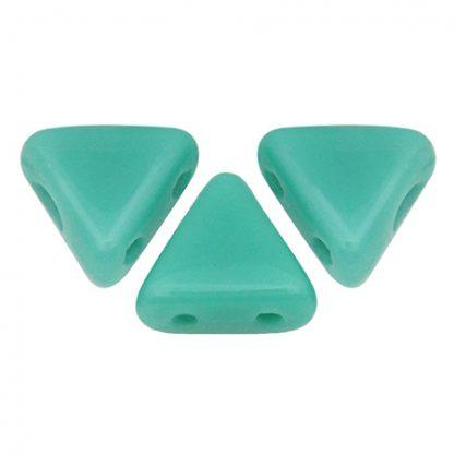 De Khéops® par Puca® van het merk les Perles par Puca® is te koop bij kralenwinkel Limited Edition in Den Haag in de kleur Opaque Green Turquoise.