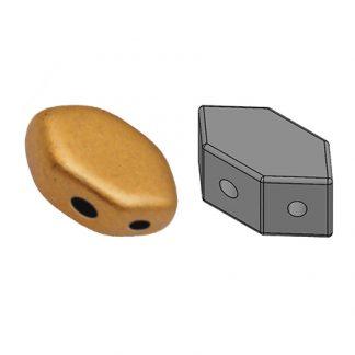 De Paros® par Puca® van het merk les Perles par Puca® is te koop bij kralenwinkel Limited Edition in Den Haag in de kleur Bronze Gold Mat.