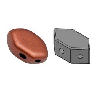 De Paros® par Puca® van het merk les Perles par Puca® is te koop bij kralenwinkel Limited Edition in Den Haag in de kleur Bronze Red Mat.
