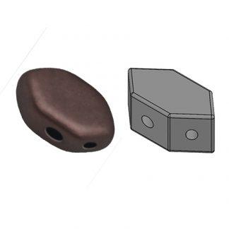 De Paros® par Puca® van het merk les Perles par Puca® is te koop bij kralenwinkel Limited Edition in Den Haag in de kleur Dark Bronze Mat.
