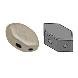 De Paros® par Puca® van het merk les Perles par Puca® is te koop bij kralenwinkel Limited Edition in Den Haag in de kleur Metallic Mat Beige.