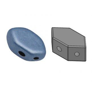De Paros® par Puca® van het merk les Perles par Puca® is te koop bij kralenwinkel Limited Edition in Den Haag in de kleur Metallic Mat Blue.