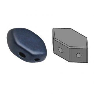 De Paros® par Puca® van het merk les Perles par Puca® is te koop bij kralenwinkel Limited Edition in Den Haag in de kleur Metallic Mat Dark Blue.