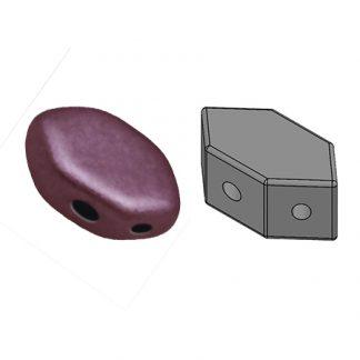 De Paros® par Puca® van het merk les Perles par Puca® is te koop bij kralenwinkel Limited Edition in Den Haag in de kleur Metallic Mat Dark Violet.