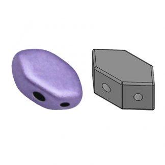 De Paros® par Puca® van het merk les Perles par Puca® is te koop bij kralenwinkel Limited Edition in Den Haag in de kleur Metallic Mat Purple.