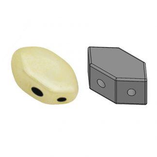 De Paros® par Puca® van het merk les Perles par Puca® is te koop bij kralenwinkel Limited Edition in Den Haag in de kleur Opaque Ivory Ceramic Look.