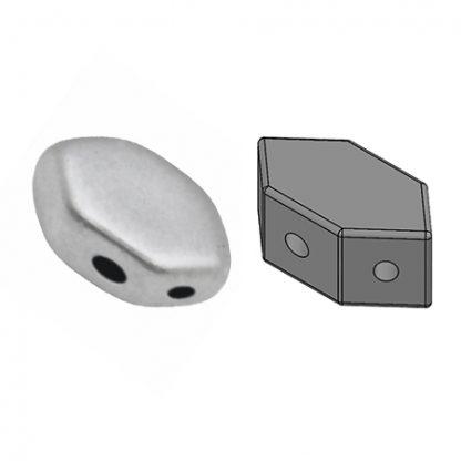De Paros® par Puca® van het merk les Perles par Puca® is te koop bij kralenwinkel Limited Edition in Den Haag in de kleur Silver Aluminium Mat.