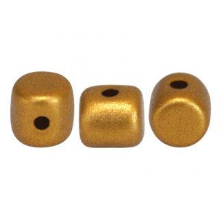 De Minos® par Puca® van het merk les Perles par Puca® is te koop bij kralenwinkel Limited Edition in Den Haag in de kleur Bronze Gold Mat.