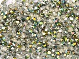 De glazen Fire Polished 3mm beads worden veel gebruikt in sieraden patronen en zijn te koop bij kralenwinkel Limited Edition in Den Haag in de kleur 00030/28101.