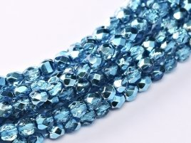 De glazen Fire Polished 3mm beads worden veel gebruikt in sieraden patronen en zijn te koop bij kralenwinkel Limited Edition in Den Haag in de kleur 00030/67675.