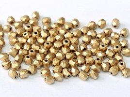 De glazen Fire Polished 3mm beads worden veel gebruikt in sieraden patronen en zijn te koop bij kralenwinkel Limited Edition in Den Haag in de kleur 01710.