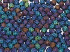 De glazen Fire Polished 3mm beads worden veel gebruikt in sieraden patronen en zijn te koop bij kralenwinkel Limited Edition in Den Haag in de kleur 23980/21135.