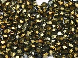 De glazen Fire Polished 3mm beads worden veel gebruikt in sieraden patronen en zijn te koop bij kralenwinkel Limited Edition in Den Haag in de kleur 23980/21415.