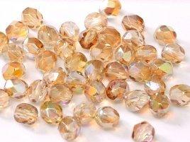 De glazen Fire Polished 3mm beads worden veel gebruikt in sieraden patronen en zijn te koop bij kralenwinkel Limited Edition in Den Haag in de kleur 00030/98532.